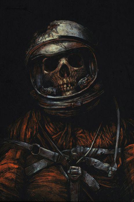Dead astronaut V2 by DIGITAL ORGASM via Behance