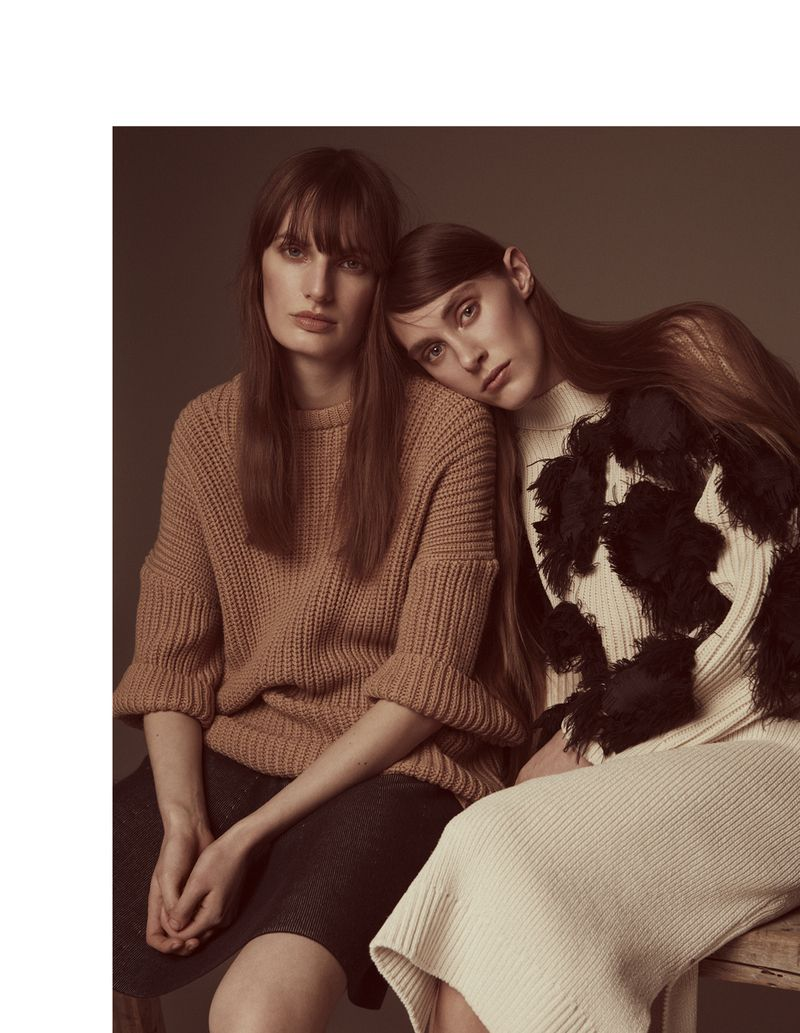 visual optimism; fashion editorials, shows, campaigns & more!: carolina sjostrand and ellinor arveryd by johnny kangasniemi for elle finland march 2015