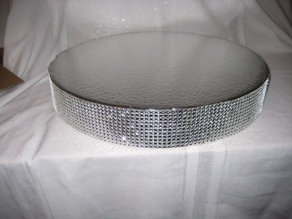Cake Stand Dazzling Diamonds Bling 14 16 18 20 And 22 Wedding