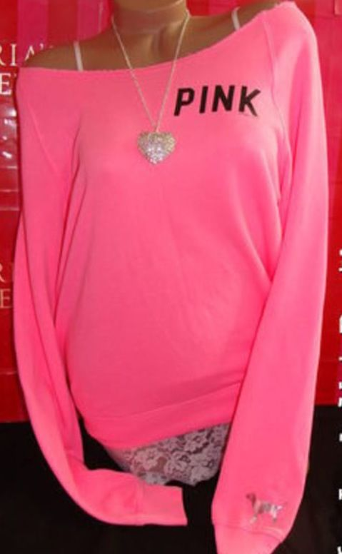 victoria secret s pink line of clothing The victoria secret clothing on ebay is sure to heat up your love life  victoria's secret pink scoop neck silver rhinestones across pink logo in silver.