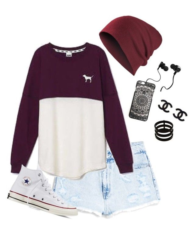 """Untitled #177"" by pwhyperlink ❤ liked on Polyvore featuring MANGO, Victoria's Secret, Converse, Monster and Repossi"