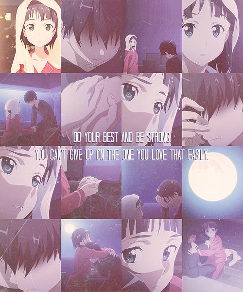 anime, Sword Art Online, SAO, quote