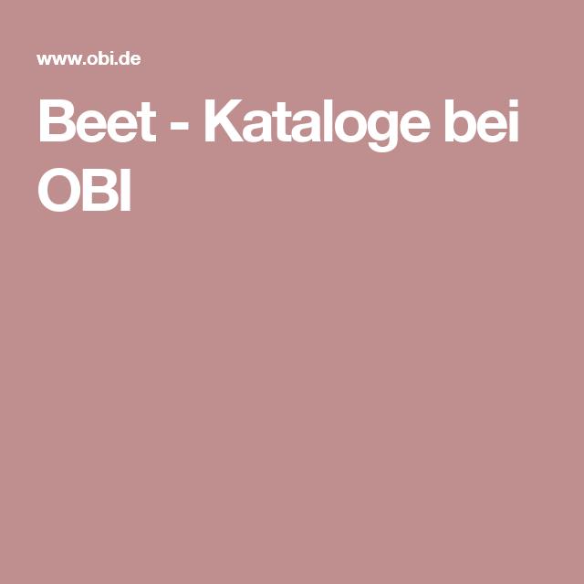 Beet Kataloge bei OBI Obi, Teich, Katalog
