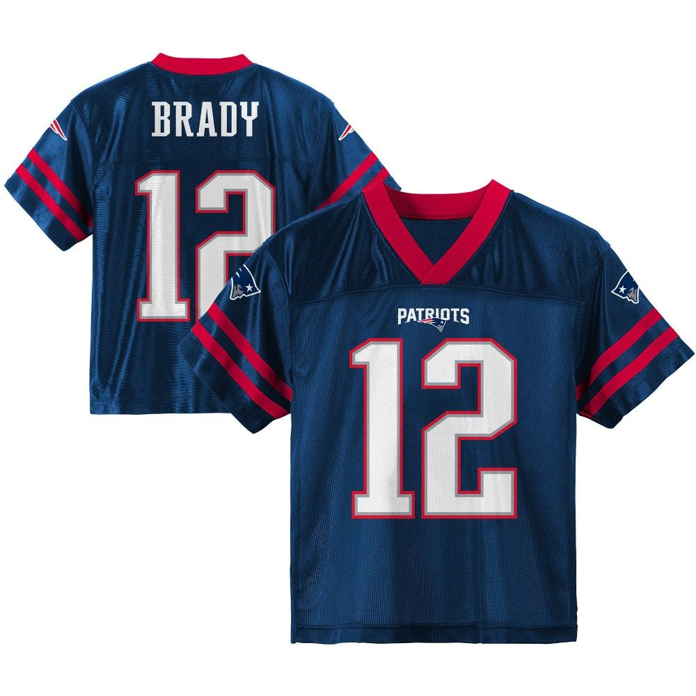 New England Patriots Toddler Player Jersey 3t Multicolored Nfl New England Patriots Jersey Patriots England Patriots