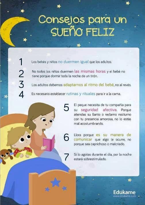 Consejos/Tips  Higiene del sueño en niños