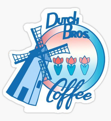 MimieTrouvetou: Best Selling Stickers #dutchbros