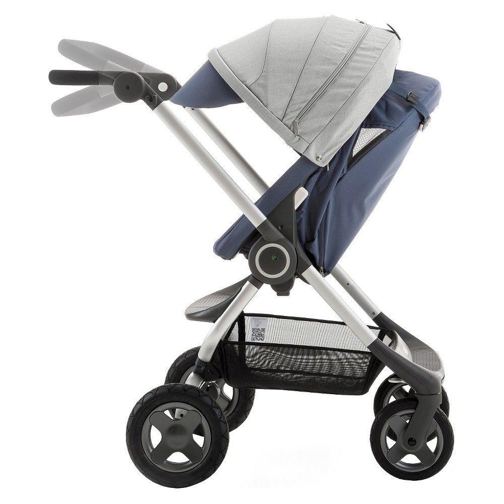Fullsize Stroller Stokke Llc, Slate Blue Stroller