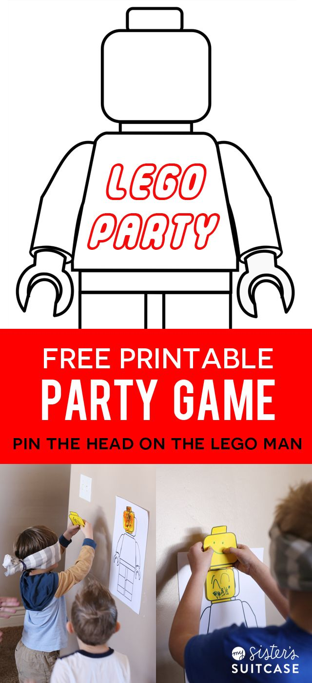 Pom Pom Wall Hanging Lego Party Games Party Games And Free Printables