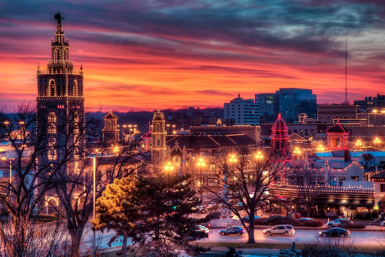 Kansas City Plaza during the holidays   Celebrate! in 2018 ...