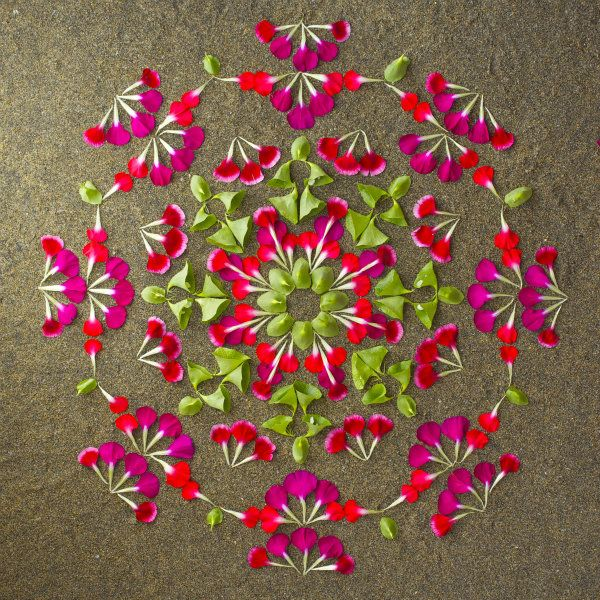 Danmala - Flower mandala