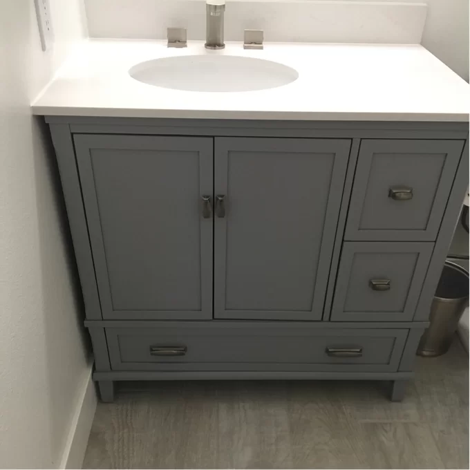 Ka 36 Quot Single Bathroom Vanity Set Single Bathroom Vanity
