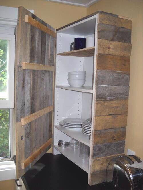 Pallet cabinet door | Storage ideas | Pallet designs ...