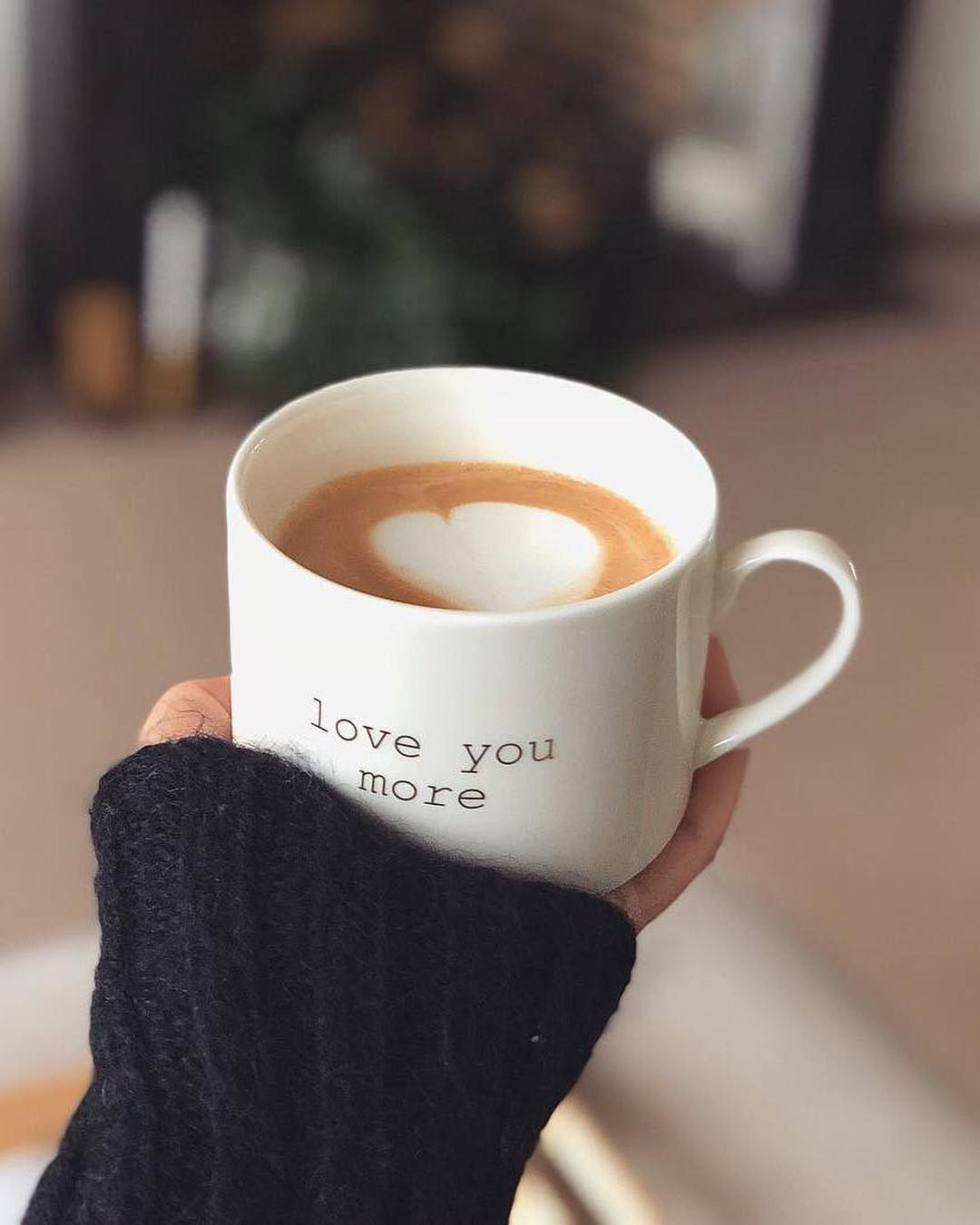 Love You More Vicfrid Hmhome Coffeelove Coffee Love H M Home Love You More