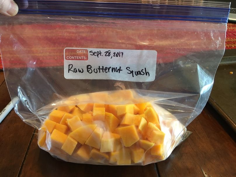 How To Freeze Butternut Squash 3 Different Ways Recipe Frozen Butternut Squash Frozen Butternut Squash Recipe Freezing Butternut Squash