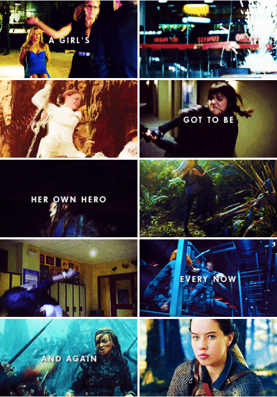 Iris West: A girl's got to be her own hero every now and again