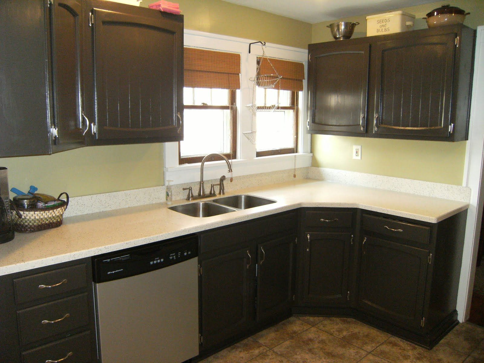painted kitchen cabinets projects house tips painting kitchen