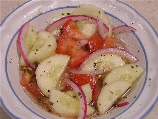 Cucumber Salad Recipe Red Wine Vinegar