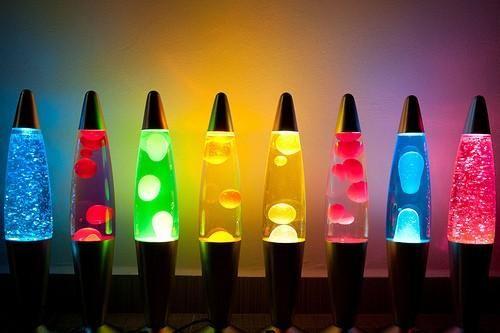 C mo hacer una l mpara de lava casera lamparas de laba y - Lamparas y decoracion ...