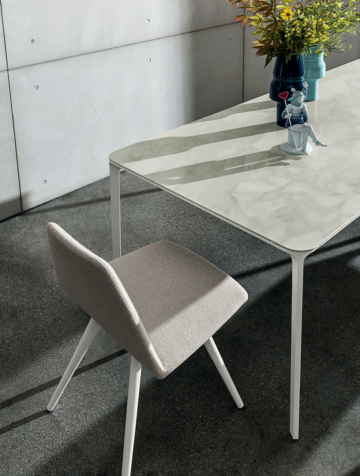 Slim Table And Sila Chair Dining Table Dining Room Design Table