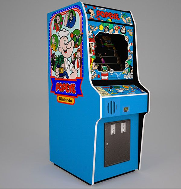 Love this Machine. Trying to get mine fixed. | Popeye Arcade ...