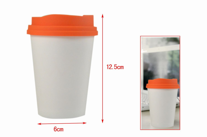 Cup Shape Personal Usb Mini Air Humidifier Purifier Mist Maker Glassware Usb Night Light Lamp