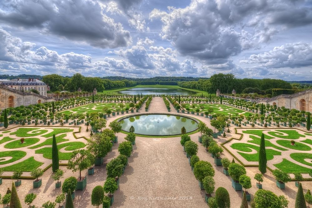 Château de Versailles #2 von Joerg Nitzschner