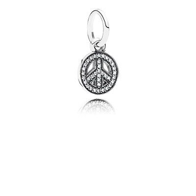 Believe In A Peaceful Future And Wear This Stylish Symbol Of Peace