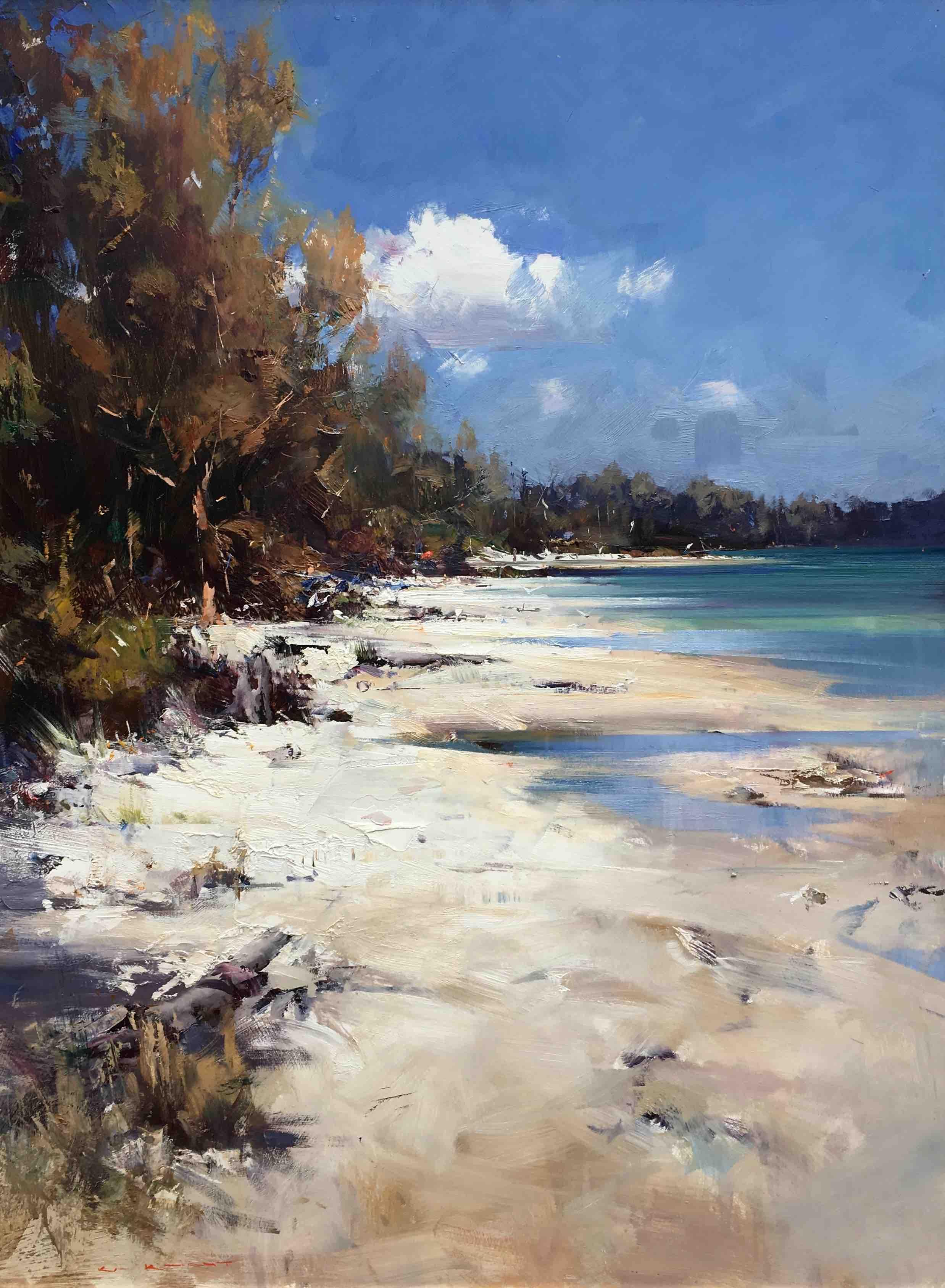 Ken Knight Seascapes Art Oil Painting Landscape Seascape Paintings