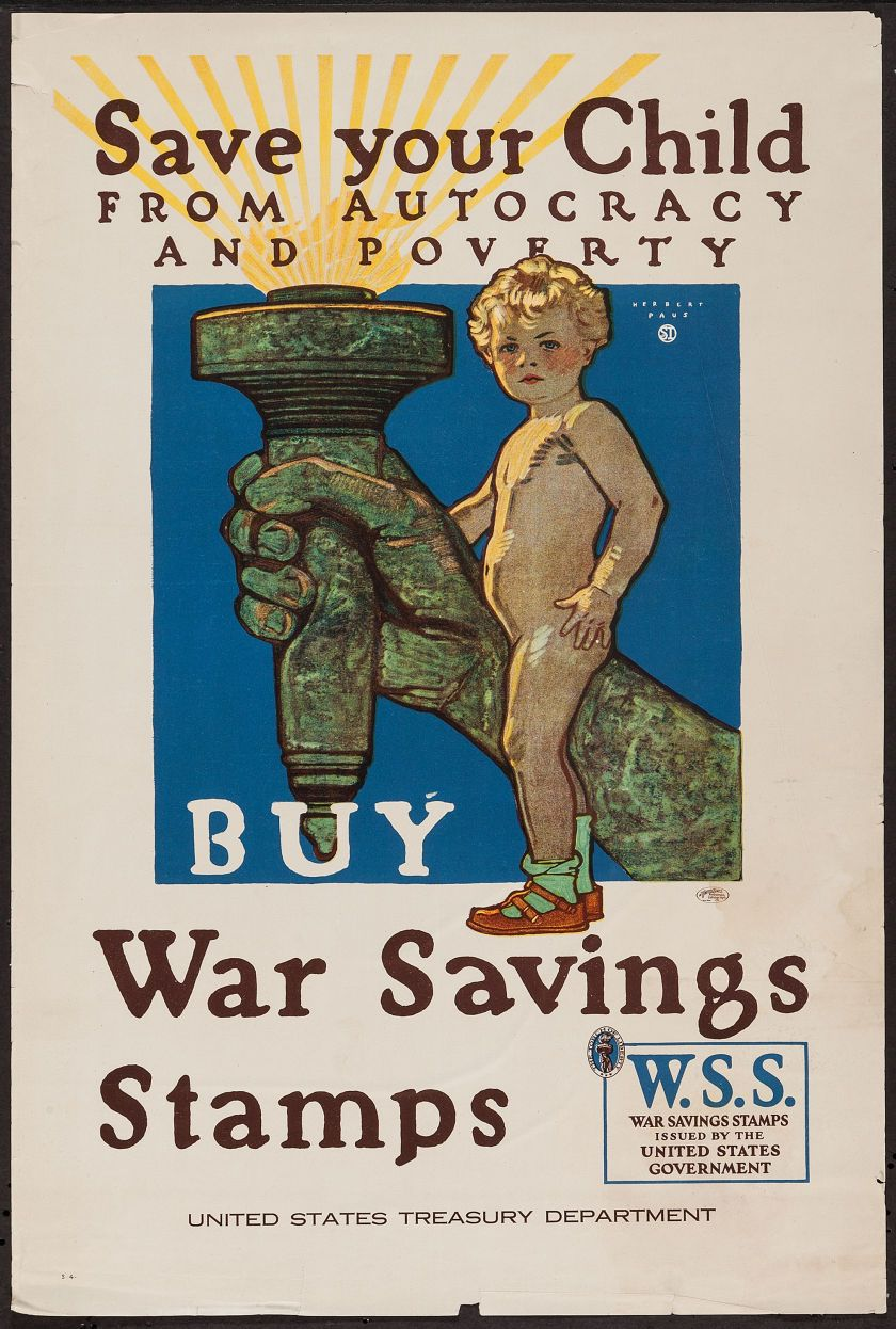 world war i u s treasury department 1918 propaganda poster 20
