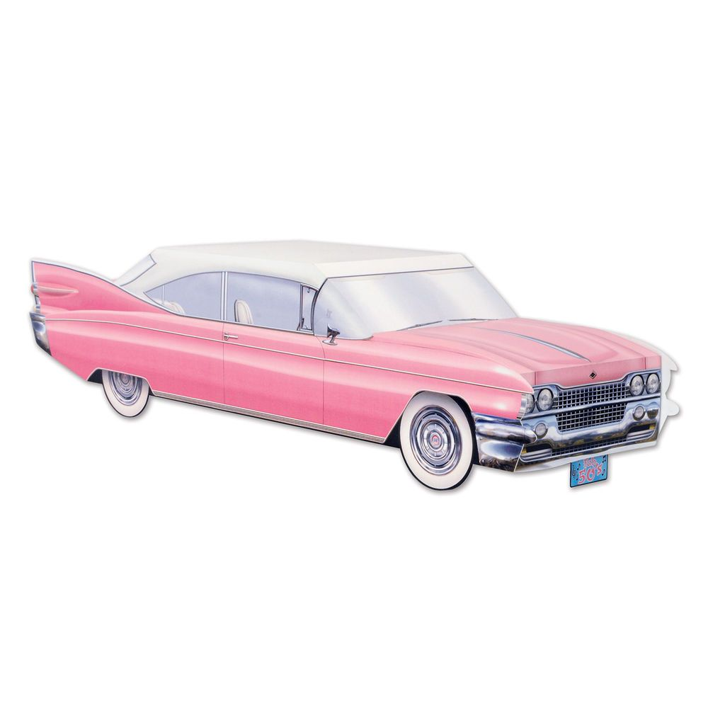 Sock Hop Party Decoration Pink Cadillac Cruisinu0027 Car ~ NEW. FUN Centerpiece  For Your Themed Party. You Will Receive 1 Centerpiece.