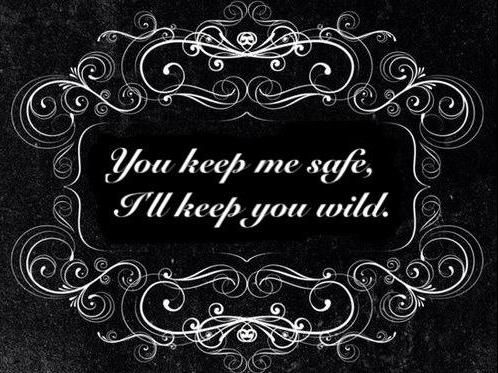 I love this... even though I don't need a man to keep me safe... that's what my 9mm semi-automatic is for! :)