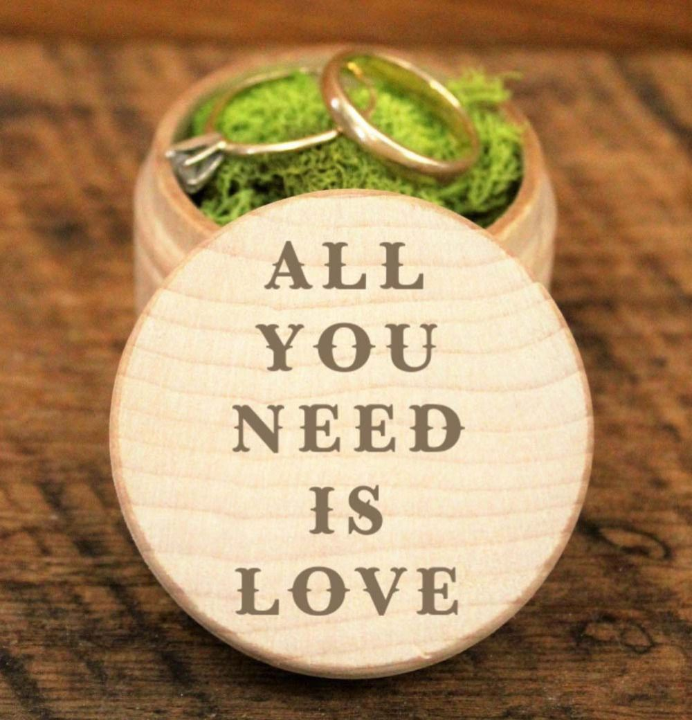 4759a2e9d8 Personalized Wedding / Valentines Engagement Wooden Ring Bearer Box  Personalised Rustic Wedding Ring Box Holder, Custom Ring Box