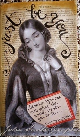 Julie Campbell (With images) | Art journal pages, Mixed ...