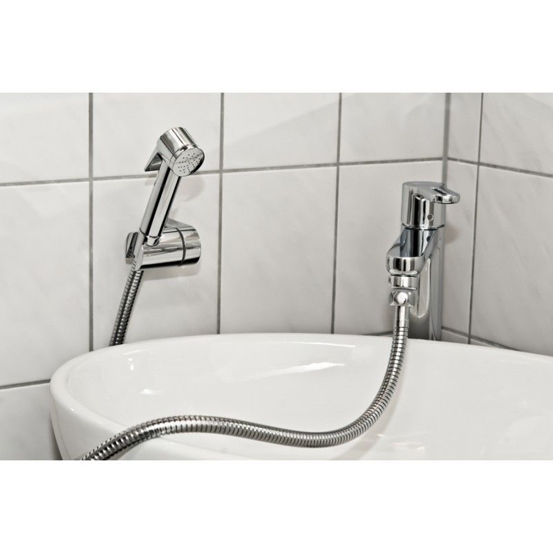Covert a sink faucet to a hand held shower ~ (attach a hose to your ...