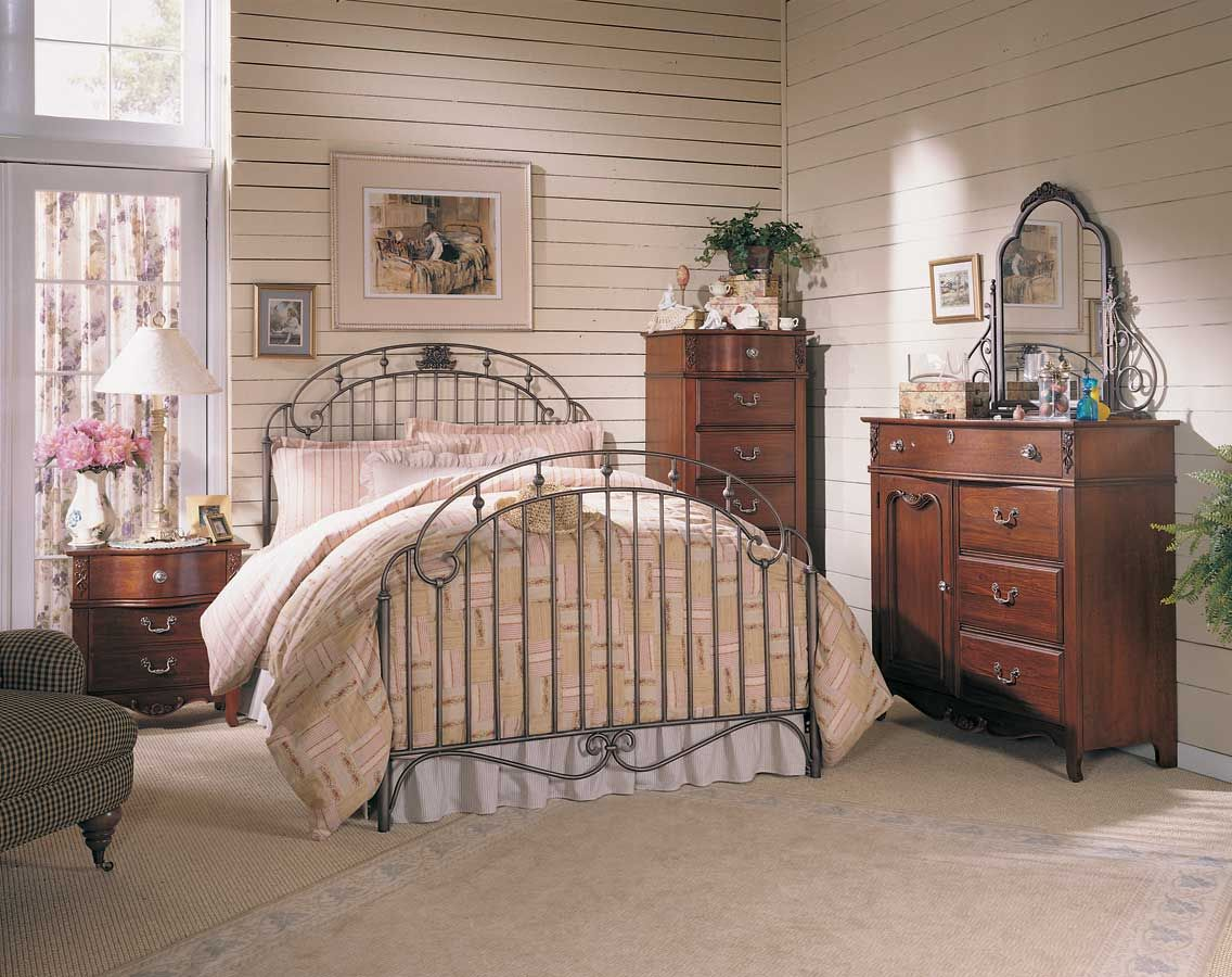 jolie chambre de style romantique et douillet d coration. Black Bedroom Furniture Sets. Home Design Ideas