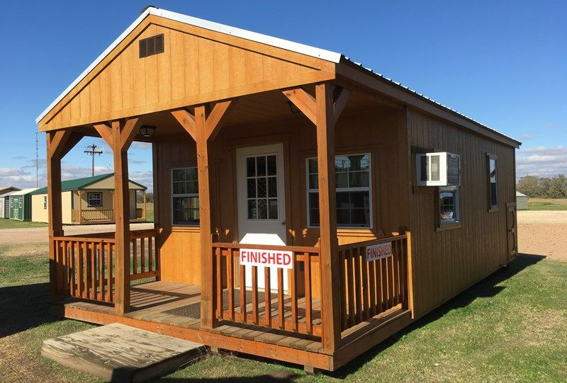 Custom Finished Portable Cabin Derksen Enterprise Center Cabin Lofted Barn Cabin Building A House