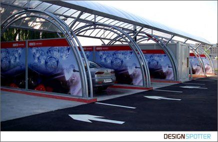 Another great design for a self serve car wash architecture another great design for a self serve solutioingenieria Choice Image