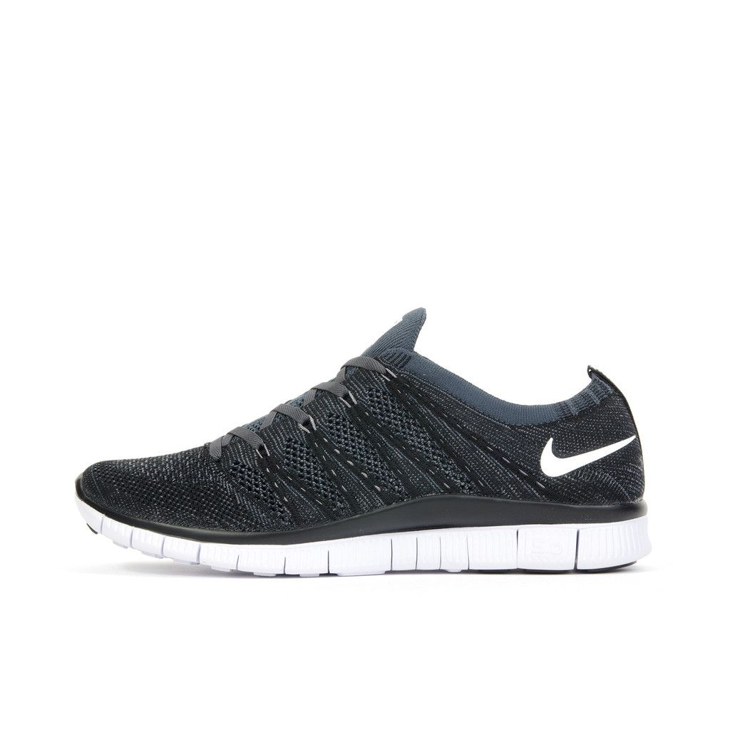 87b7817a5e1 Nike Free Flyknit NSW Black White. Available at Concrete Store ...