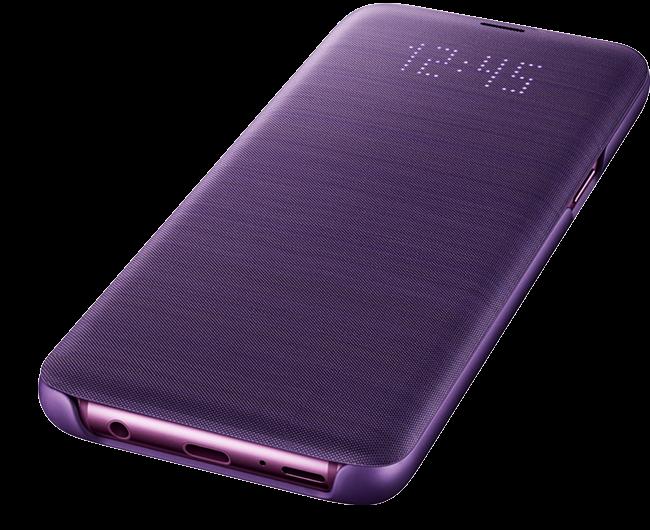 Etui Led View Pour Galaxy S9 Avec Images Galaxie Etui Telephone Mobile