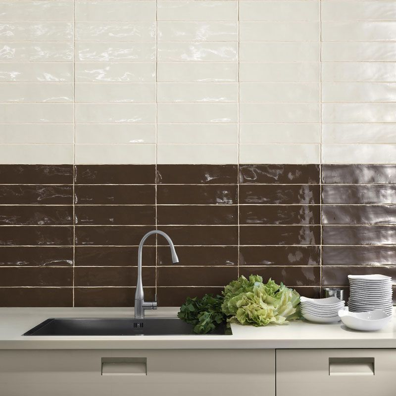 One Of The Newest Looks In Subway Tiles