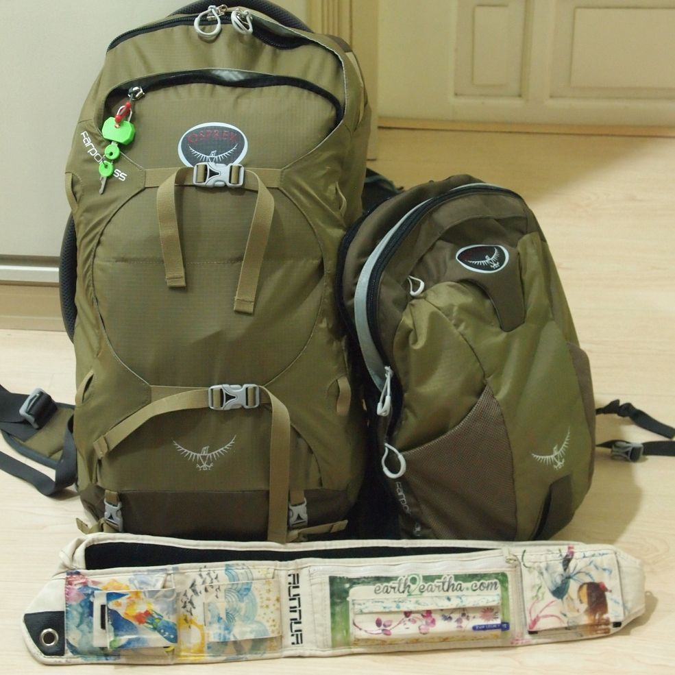 A Backpacker's Backpack Review: Osprey Farpoint 55 ~ Earth2Eartha ...
