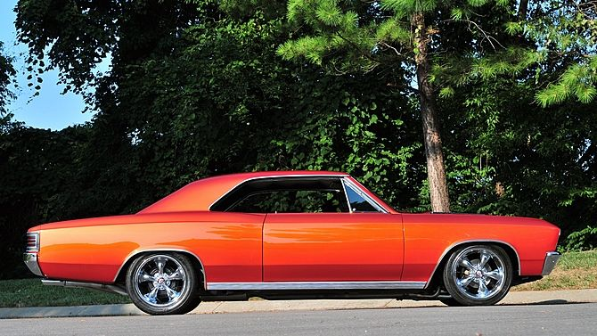1967 Chevrolet Chevelle 396 Ci 4 Speed Presented As Lot F218 At