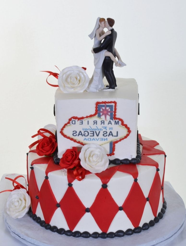 Dorable Vegas Themed Wedding Cake Picture Collection - The Wedding ...