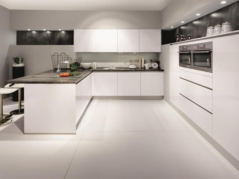 Nobilia Handleless Kitchens are modern and sleek Projektek - nobilia k chen qualit t