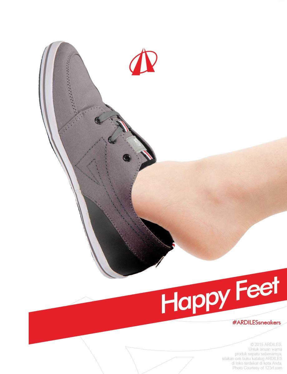 Ardiles Sneakers Lovers Kaki Merupakan Bagian Tubuh Yang Perlu