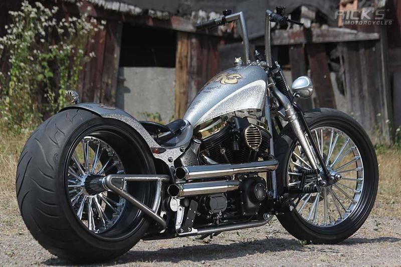 Rick's 15th Aniversary Ride built by Ricks Motorcycles of Germany