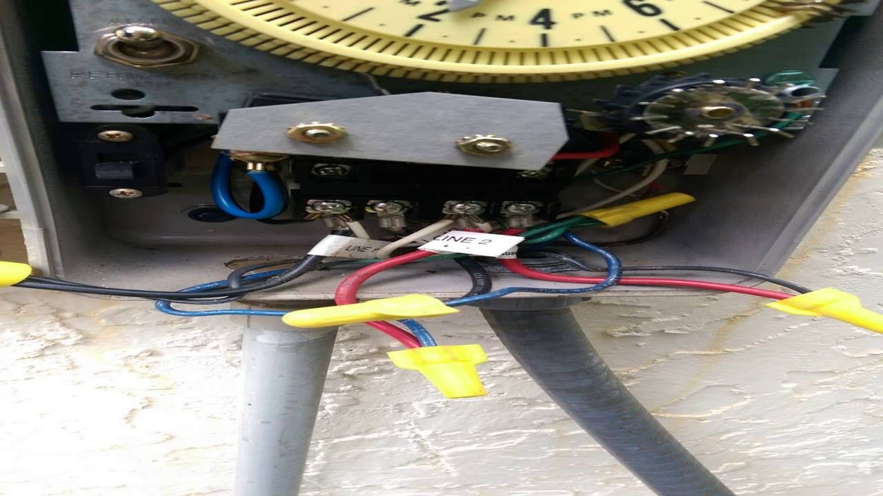 How To Wire 220v Pump Start Relay Orbit In 2020 Sprinkler Pump Orbit Sprinkler System Orbit Sprinkler
