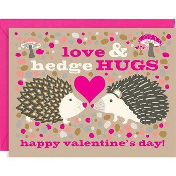 Hedgehugs A2 Valentine Cards   t☼ make someday•••   Pinterest ...