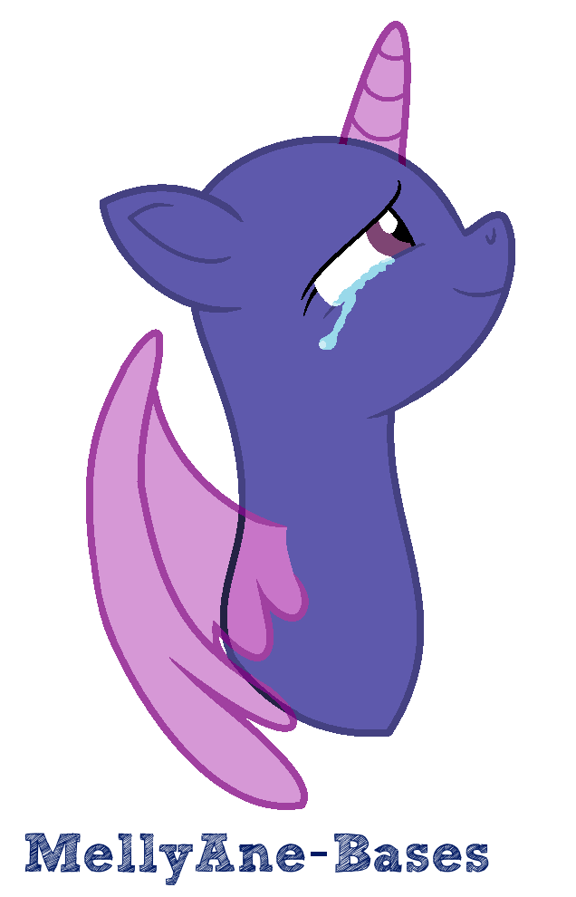 Crying Pony Base By Mellyane Bases On Deviantart All About That