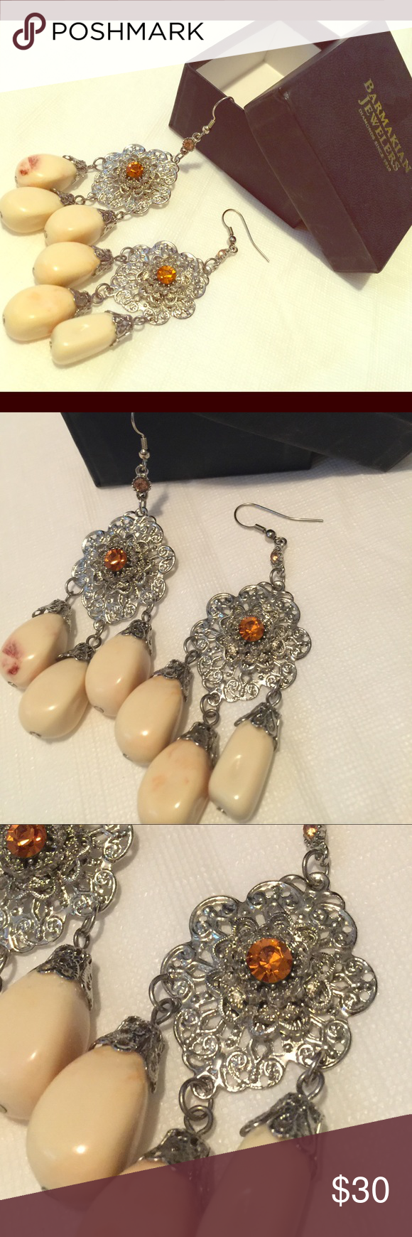 Gorgeous Chandelier Earrings These are so beautiful, a bit over priced but so worth every cent; when you put them on you'll see what I mean! Jewelry Earrings